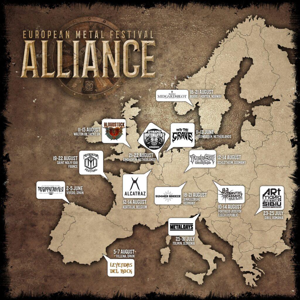 metal fest map